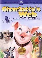 Charlottes Web Gift Set DVD, 2003, 2 Disc Set