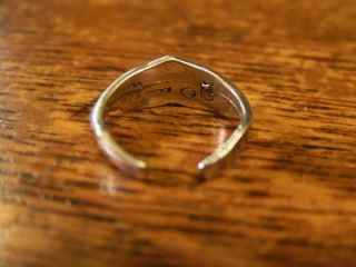 Authentic Harley Davidson Toe Ring or Pinky Ring 925 Sterling