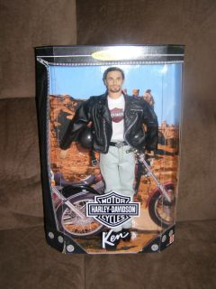 Harley Davidson Ken Barbie Doll 1 in Series 1998 Collector Edition