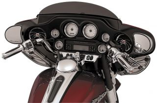 Deluxe Gauge Bezels with Colored Accents 3781 Harley Davidson