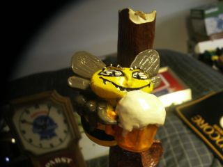 Grays Honey Ale Beer Tap Handle Knob Figure Honey Bee In Tree Super