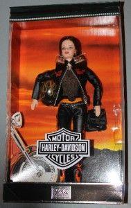 2000 Harley Davidson Barbie 5 Collectors Edition RARE
