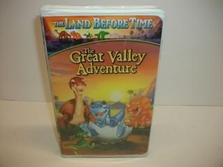 The Land Before Time The Great Valley Adventure VHS Kids Dinosaur