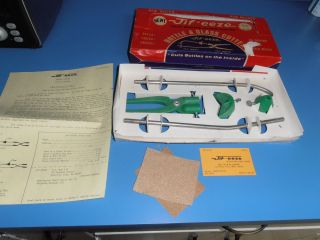 1973 JIF EEZE Glass Bottle Cutter Kit Complete Grand Coulee Washington