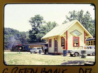 Slide Wilmington Western Station Scene Green Bank de July 1966