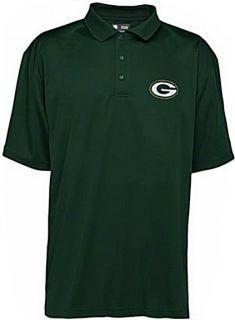 Green Bay Packers NFL Team Apparel Green Polo Golf Shirt Big Tall Size