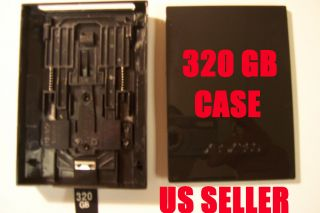 320GB Hard Disk Drive HDD Caddy Case Shell Cover for Xbox 360 Slim