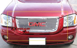 01 09 GMC Envoy Stainless Steel Punch Grille Insert
