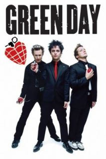 Green Day Grenades POSTER 60x90cm NEW Heart Hand Grenade Billie Joe
