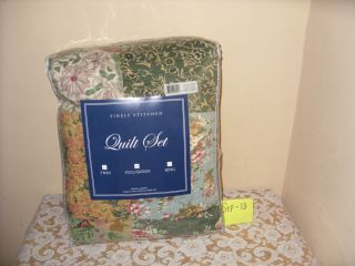 Greenland Home Fashions Antique Chic Quilt Set New