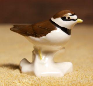 Goebel w Germany Ringed Plover Grand Gravelot Bird Figurine Mint