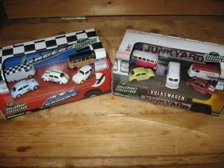 Greenlight Collectibles VW Junk Yard and Road Racers Motor World 5 Car