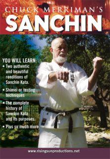 Chuck Merriman Okinawan Goju Ryu Sanchin Karate DVD 254