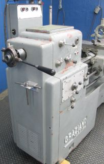 Graziano 12 x 32 Geared Head Gap Bed Engine Lathe Nicely Tooled