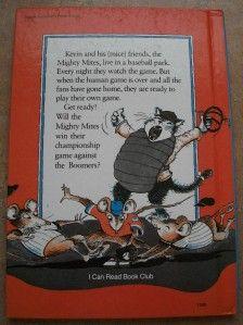 mice at bat kelly oechsli children s i can read book