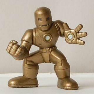 Super Hero Squad Iron Man Gold Golden Age Figure