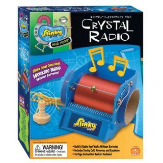 Slinky Science and Activity Kits Crystal Radio   2012