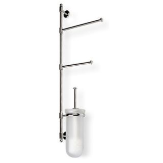 Gedy by Nameeks Edera Wall Mounted Toilet Brush Holder in Chrome