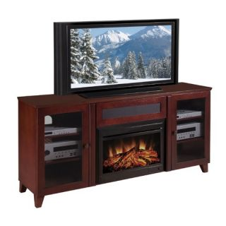 Electric Fireplace Entertainment Center White On Popscreen