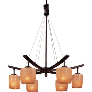 Minka Lavery Raiden 6 Light Chandelier   1186 357
