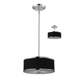 Lite Cameo Convertible 2 Light Drum Pendant