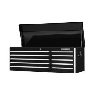 Extreme Tools 56 10 Drawer Professional Tool Chest in Black