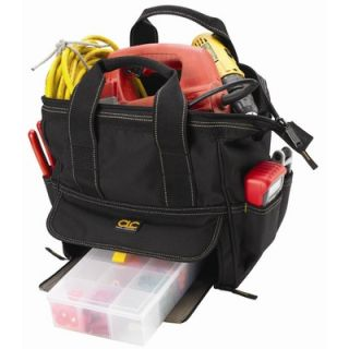 CLC Tool Bag 12 Pocket Large Traytote Tool Bag 12 H x 12 W x 8 D