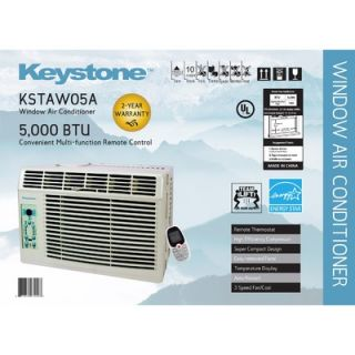 Keystone 5,000 BTU Energy Star Window Air Conditioner with Remote