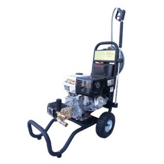 Spray 3000 PSI Cold Water Gas Pressure Washer with 11 HP Honda Engine