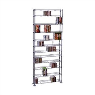 Atlantic Max Steel 12 Tier Multimedia Storage Rack   63135237