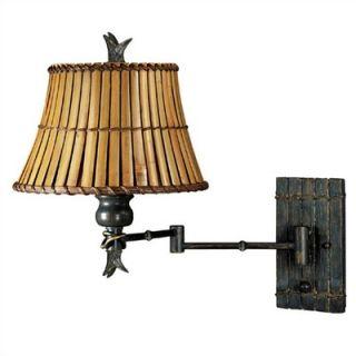 Kenroy Home Kwai 16 Swing Arm Wall Lamp