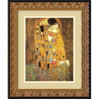 ), 1907 by Gustav Klimt, Framed Print Art   16.98 x 13.98