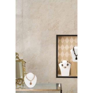 American Olean Allora 18 x 36 Unpolished Porcelain Tile in Sabbia