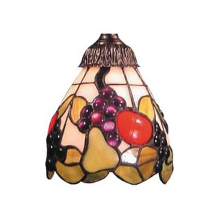 Lighting Mix N Match 5.25 Fruit Design Glass Shade   999 19