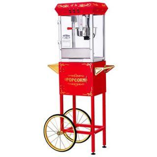 "Great Northern Popcorn ""All Star GNP 800 8oz Red Popcorn Machine"