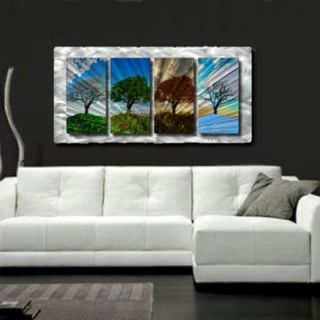 My Walls Four Seasons Contemporary Wall Art   23 x 47   NOR00005