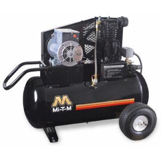Mi T M 2 HP Electric / 20 Gallon Single Stage Wheelbarrow Air