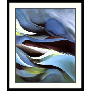 the Lake No. 1 by Georgia OKeeffe, Framed Print Art   28.16 x 23.79