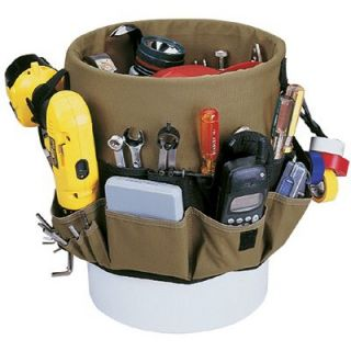 CLC Custom Leather Craft Bucket Organizers   48 pocket bucket