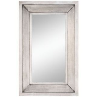 Cooper Classics 44 x 28 Garner Mirror in Distressed Silver