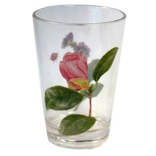 Corelle Coordinates 8 Oz Acrylic Drinkware with Camellia Design (Set