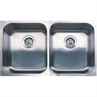 Blanco Spex Plus Equal Double Bowl Undermount Kitchen Sink