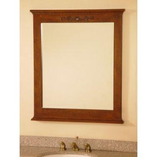 Lanza 30 Bathroom Vanity Mirror in Royal Brown   WF5985 MR
