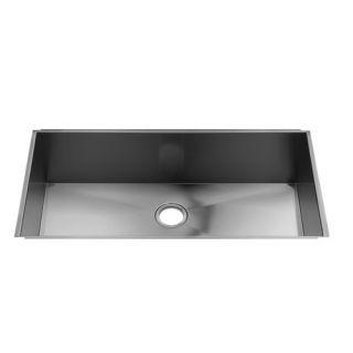 Water Creation 33 x 19 Zero Radius Undermount Single Bowl Stainless