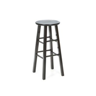 International Concepts 29 Roundtop Counter Stool (Black)   1S46 430