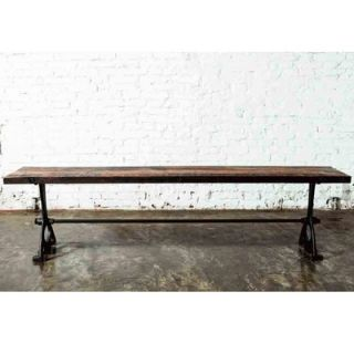 District Eight Design V32 Oak and Cast Iron Picnic Bench   HGDA1XXX