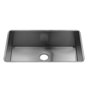 Julien J7 31 x 18.5 Undermount Stainless Steel Single Bowl Kitchen