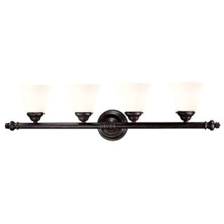 Forte Lighting Three Light Bath Vanity in Rustic Sienna   5484 03 41