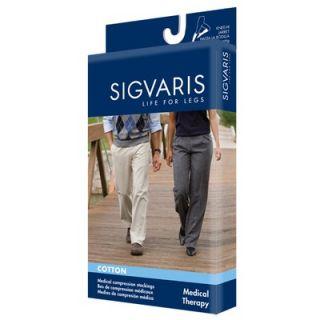 Sigvaris 230 Cotton Series 30 40 mmHg Unisex Open Toe Knee High Sock