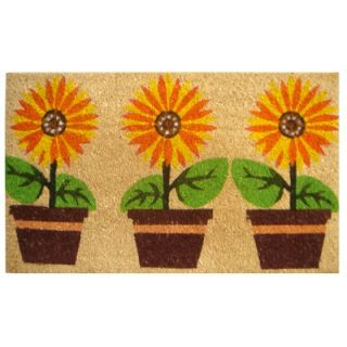 Custom Printed Rugs Window Box Doormat   DM 47